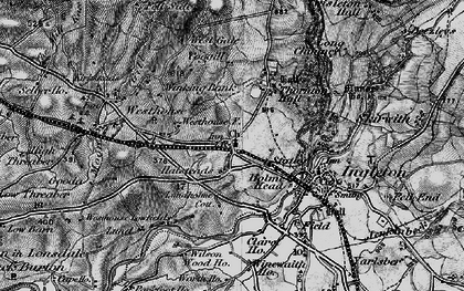 Old map of Wilson Wood in 1898