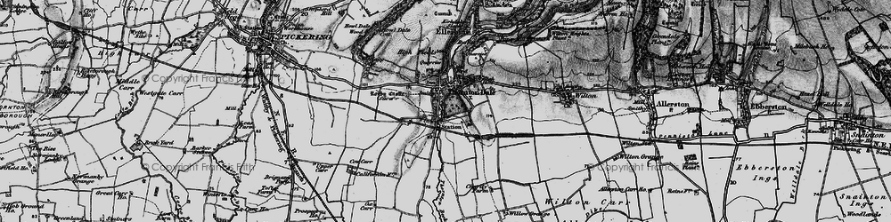 Old map of Willow Grange in 1898