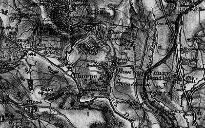 Old map of Lin Dale in 1897