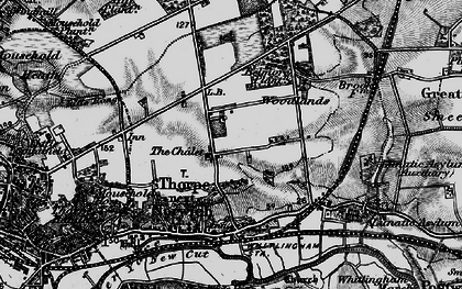 Old map of Thorpe St Andrew in 1898