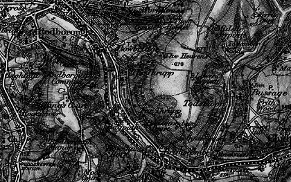 Old map of Thrupp in 1897