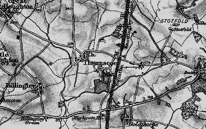 Old map of Thurnscoe in 1896