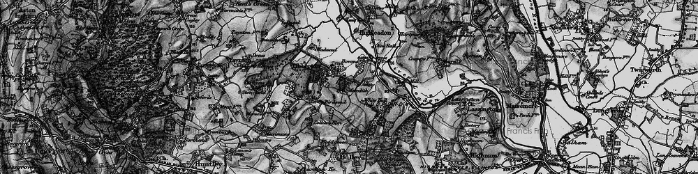 Old map of Tibberton in 1896