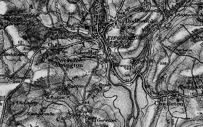 Old map of Ticket Wood in 1897