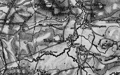 Old map of Tidmington in 1898