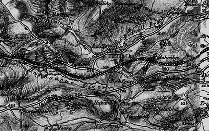 Old map of Allerton in 1898