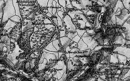 Old map of Tiley in 1898