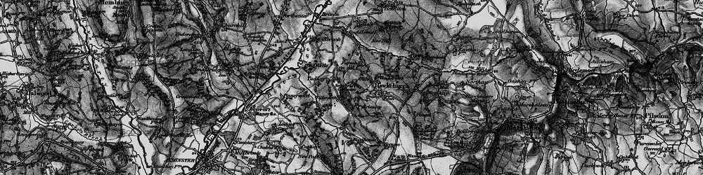 Old map of Tillworth in 1898