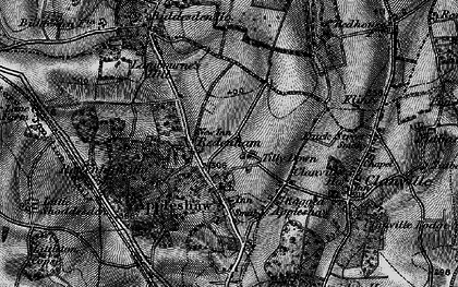Old map of Tilly Down in 1895