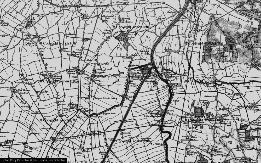 Tilney cum Islington, 1893