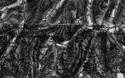 Old map of Tinkers Hatch in 1895