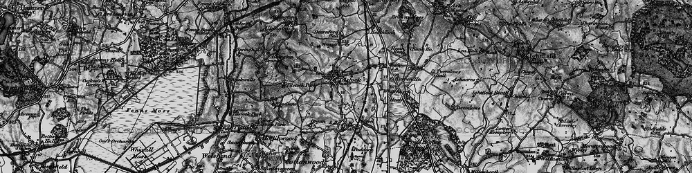 Old map of Tilstock in 1897