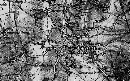 Old map of Tilston in 1897
