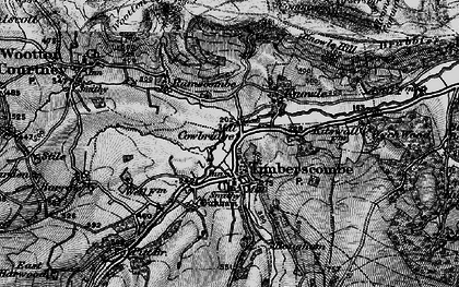 Old map of Timberscombe in 1898