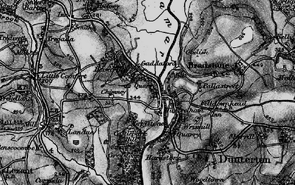 Old map of Timbrelham in 1896