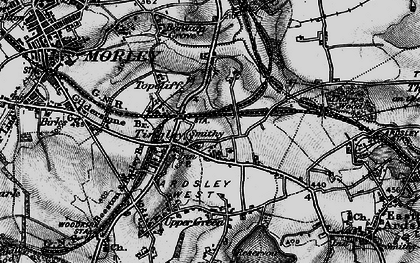Old map of Tingley in 1896
