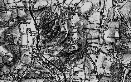Old map of Tinshill in 1898