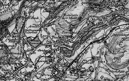 Old map of Windgate Edge in 1896