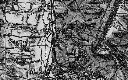 Old map of Tipton St John in 1897