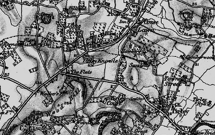 Old map of Tirley Knowle in 1896