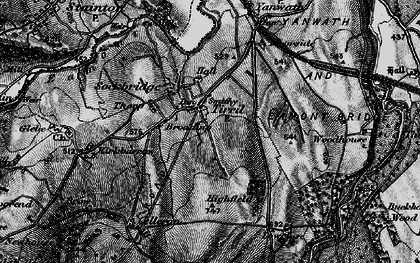 Old map of Tirril in 1897