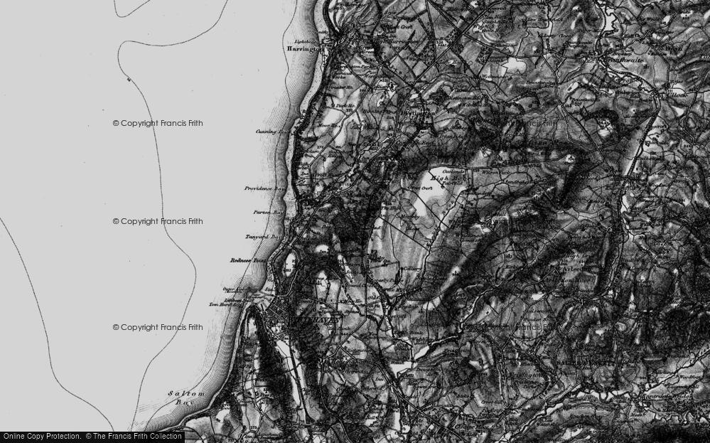 Old Map of Tivoli, 1897 in 1897
