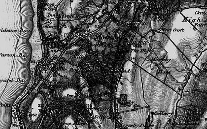 Old map of Tivoli in 1897