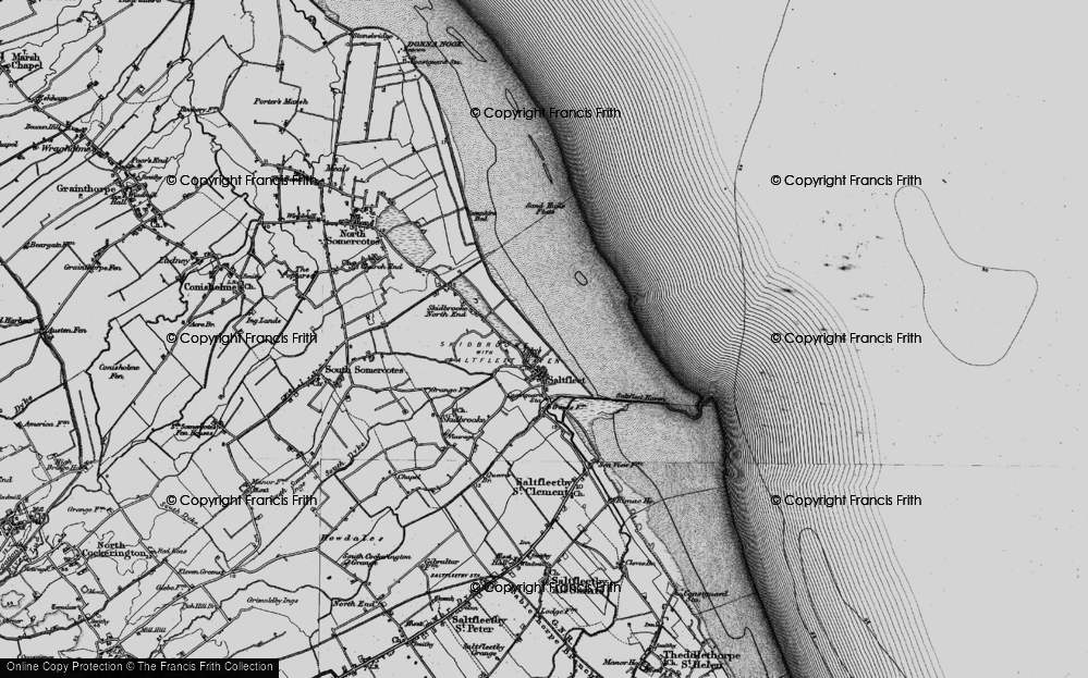 Old Map of Toby's Hill, 1899 in 1899