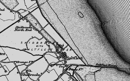 Old map of Toby's Hill in 1899