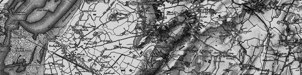 Old map of Tockington in 1897