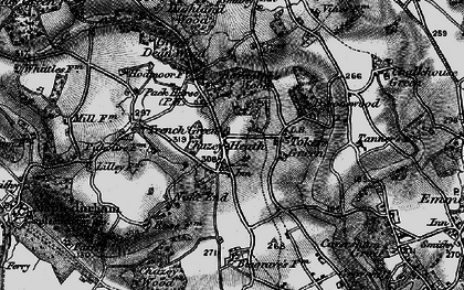 Old map of Tokers Green in 1895