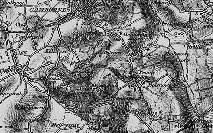Old map of Tolcarne in 1896