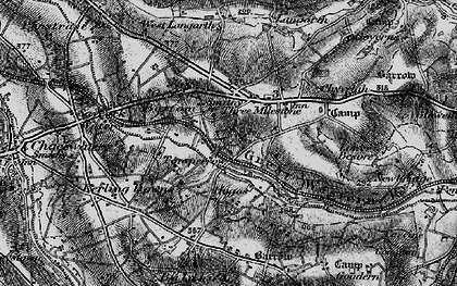 Old map of Tomperrow in 1895