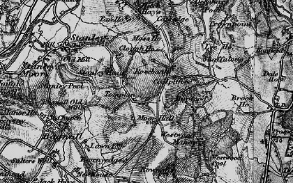 Old map of Tompkin in 1897