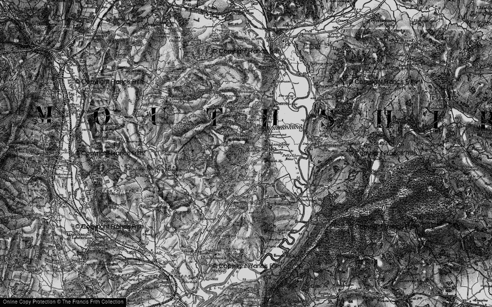 Old Map of Ton, 1897 in 1897