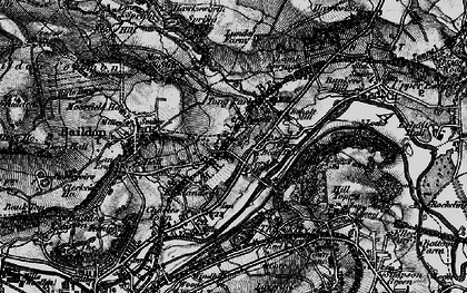 Old map of Tong Park in 1898