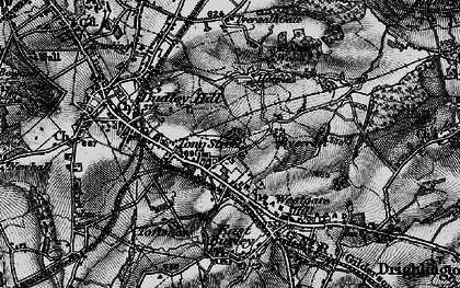 Old map of Tong Street in 1896