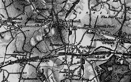 Old map of Tontine in 1896