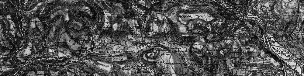Old map of Tonyrefail in 1897