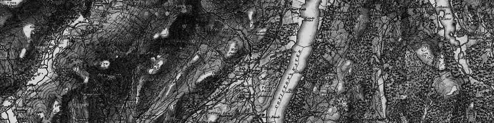 Old map of Torver in 1897