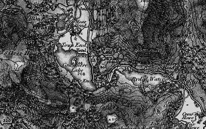 Old map of Alcock Tarn in 1897