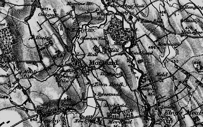 Old map of Woodhead in 1897