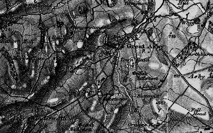 Old map of Asby Winderwath Common in 1897