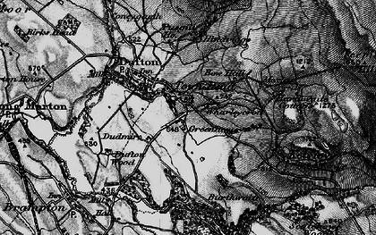 Old map of Wharleycroft in 1897
