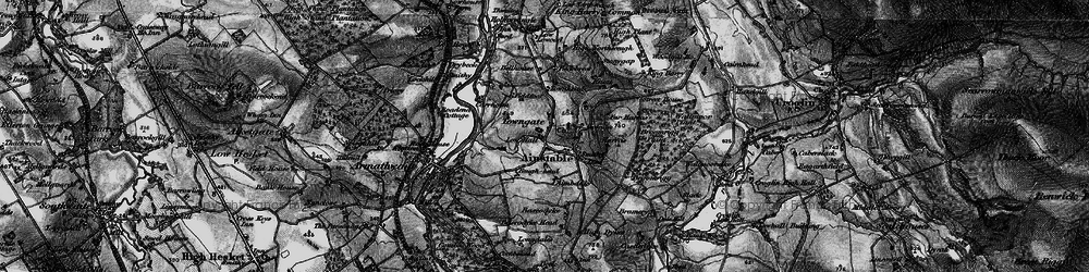 Old map of Aimbank in 1897