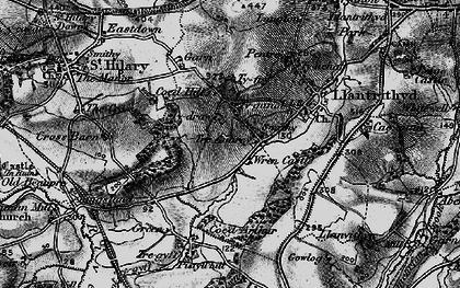 Old map of Wren's Castle in 1897