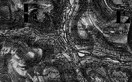 Old map of Trealaw in 1897