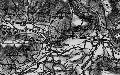 Old map of Ynys-Clydach in 1898