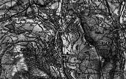 Old map of Tredegar in 1897
