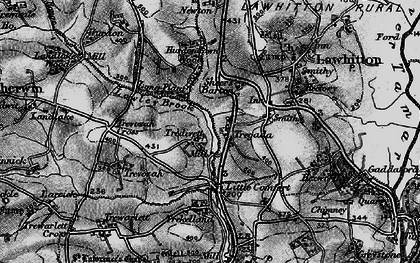 Old map of Tregada in 1896